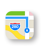 Get directions on Apple Maps